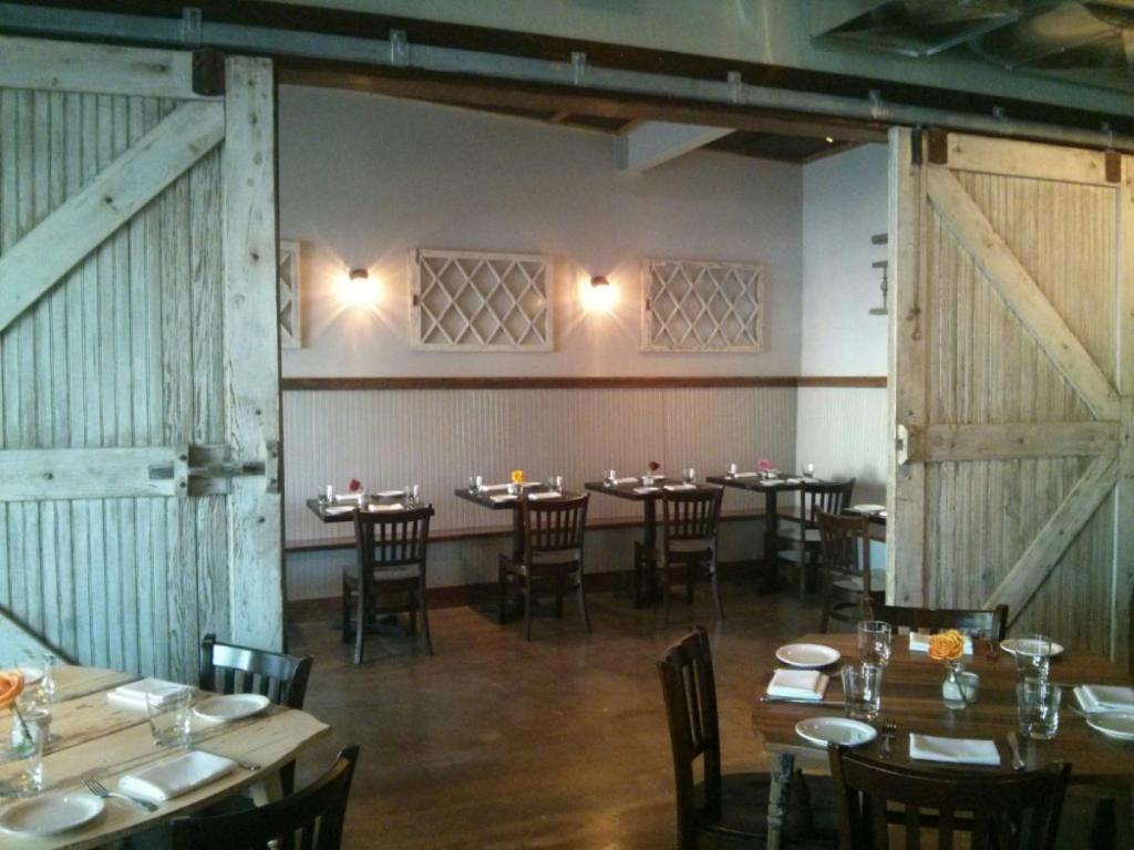 Interior photo of Tables Restaurant in Denver